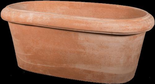 Ovale Liscio - Terra Cotta Planter - Tuscan Imports