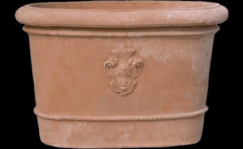 Ovale Medici - Terra Cotta Planter - Tuscan Imports