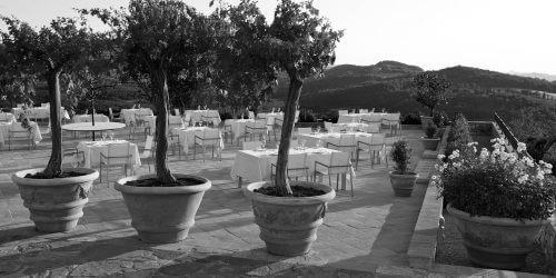 Authentic terracotta planters made in Impurneta Italy.