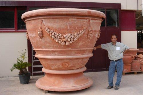 oversized terracotta 4 tuscan imports. Black Bedroom Furniture Sets. Home Design Ideas