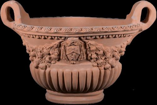 Calice Ovale Festonata - Terra Cotta Planter - Tuscan Imports