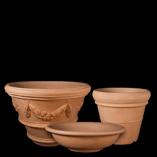 Lightweight-Poly-Planters-Italian-Terracotta-Pottery