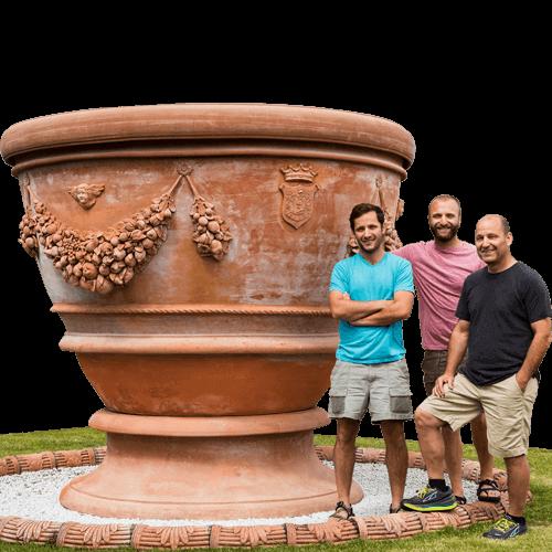 Oversized – Terra Cotta Pots