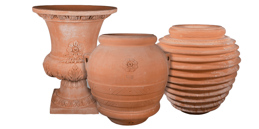 Terra Cotta Planters From Impruneta Italy Tusan Imports