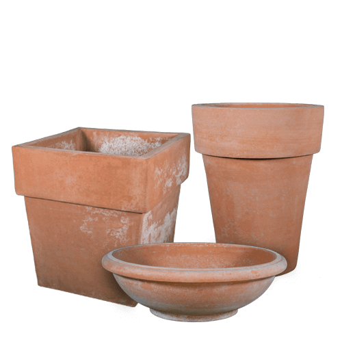 Contemporary – Terra Cotta Pots