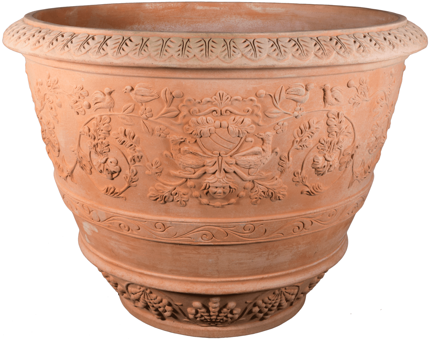 terracotta pots for sale in north america tuscan imports. Black Bedroom Furniture Sets. Home Design Ideas