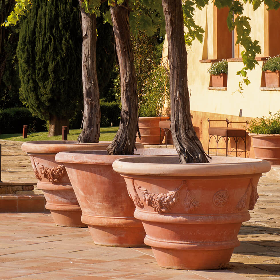 New Terracotta Pots