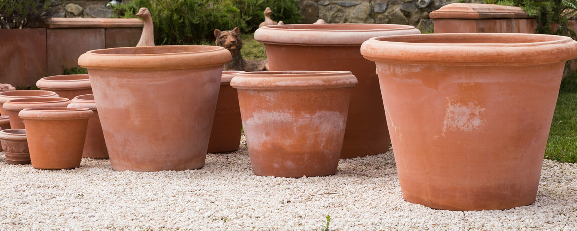 Terracotta Planters from Tuscan Imports